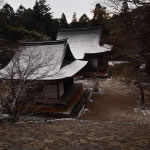 京都 高雄 神護寺の雪景色(Covered with snow of Jingoji temple in Kyoto,Japan)