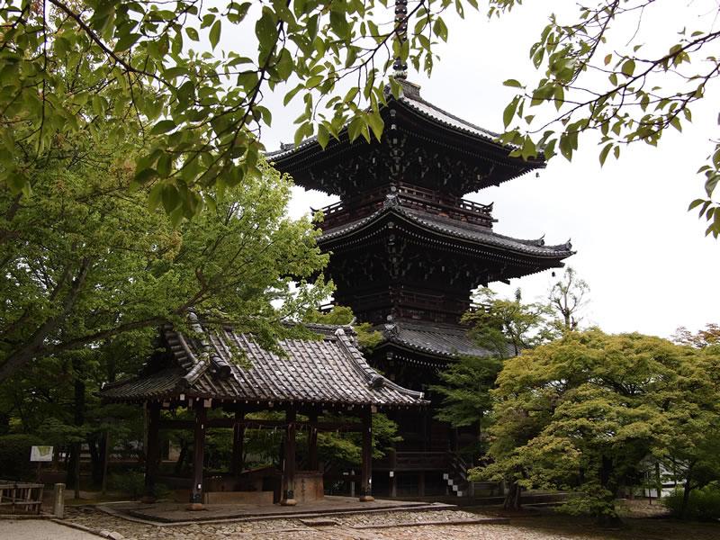 京都 真如堂 三重塔