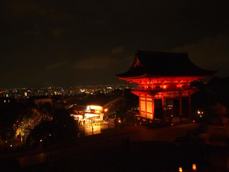 清水寺 夜の特別拝観