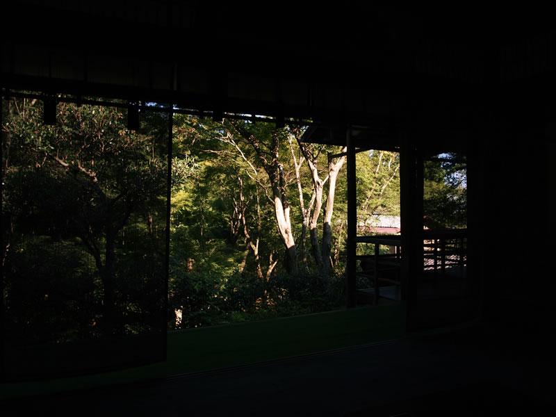 京都 嵯峨野 直指庵