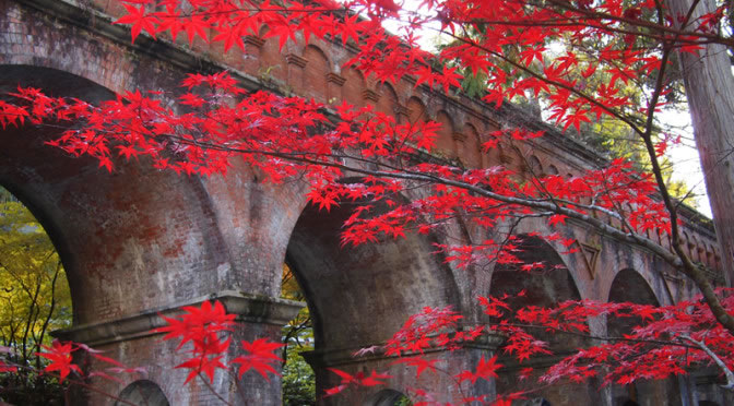 京都 南禅寺の紅葉(Autumn leaves of Nanzenji temple in Kyoto,Japan)
