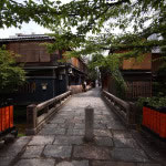 京都 祇園白川の新緑(Gion-shirakawa street in Kyoto,Japan)