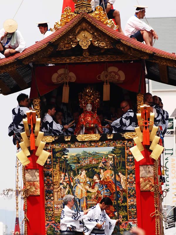 京都 祇園祭2014 山鉾巡行(Gion Festival-Yoiyama in Kyoto,Japan)
