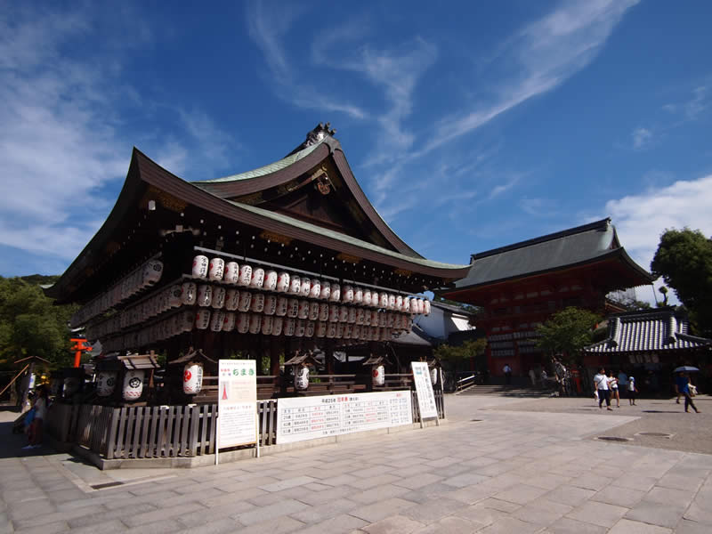 京都 八坂神社(Yasaka shrine in kyoto,Japan)