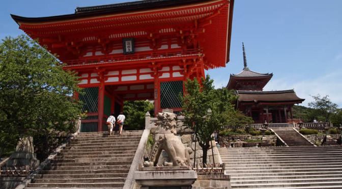 京都 清水寺(Kiyomizudera temple in Kyoto,Japan)